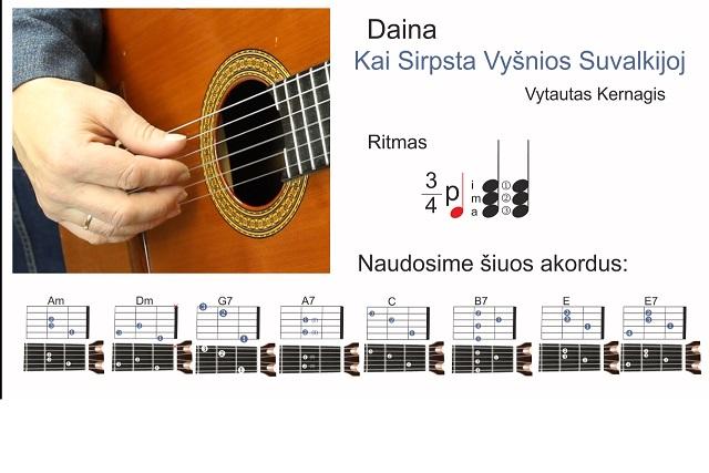 10 gitaros pamoka