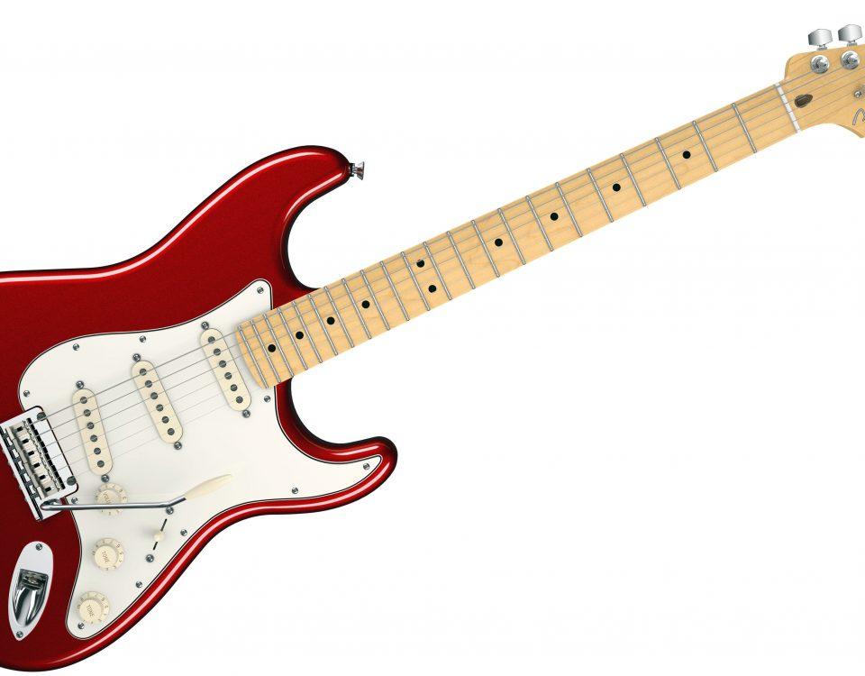 stratocaster elektrinė gitara