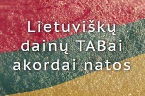 Lietuvisku dainu TABai