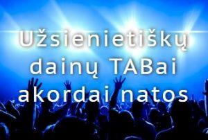 Uzsienio dainu TABai