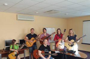 Gitarija.lt Beno kursai 2018 pavasaris Vilnius