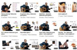 Gitaros pamkos - SuGitara.lt