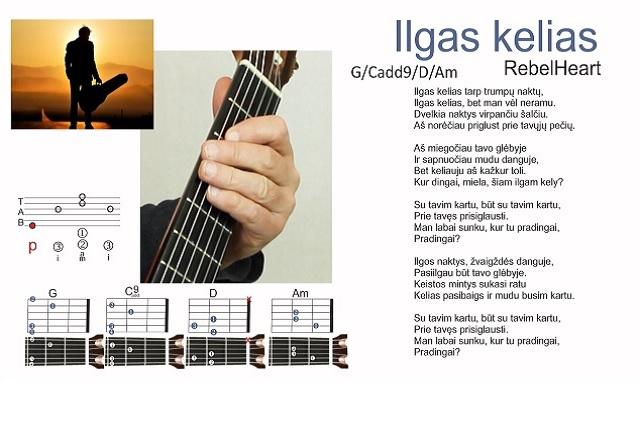 11 gitaros pamoka