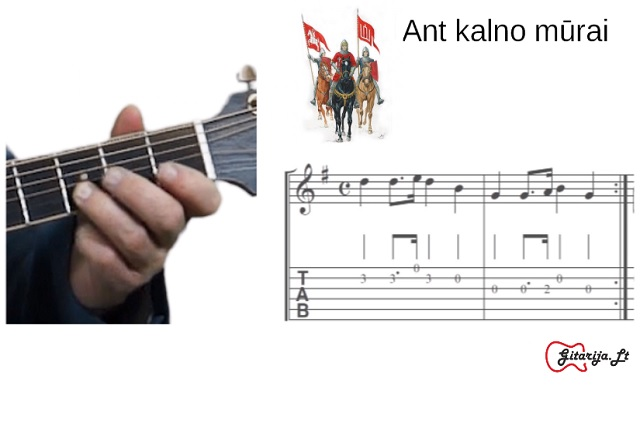 4 gitaros pamoka